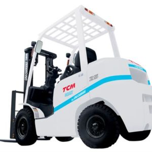 Engine-powered counterbalance forklift