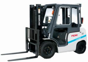 tcm-diesel/lpg counterbalance forklift-trucks iNOMA_Cabin