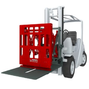 Forklift Attachment Push Pull with Sideshift and Sheet Saver
