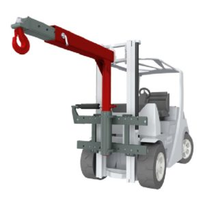 Forklift Attachment Crane Jibs