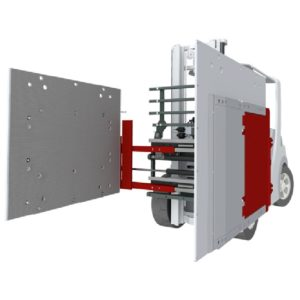 Forklift Attachment Appliance Clamp