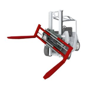 Forklift Attachments Rotating Clamps