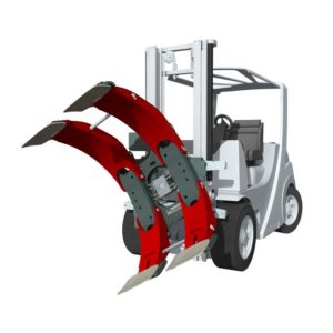 Forklift Attachment Roll/Paper Roll Clamps