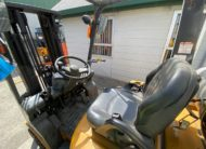 TCM FG18T19 Pre-Owned Used Forklift Cabin View