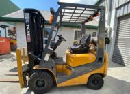 TCM FG18T19 Pre-Owned Used Forklift Side View