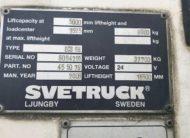 svetruck used forklift specs