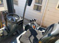 Jungheinrich electric forklift EFG216k Cabin View