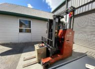 Pre-Owned Nissan Forklift for Sale Side View