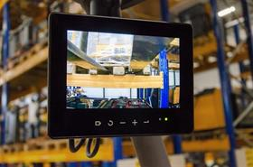 Digital Camera Monitor displaying view of the fork